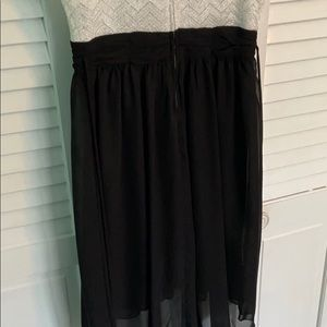 Dresses - Black and White Homecoming Dress